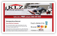 KLZ Winnipeg Snow Removal